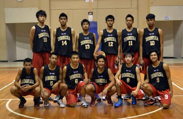 Timnas bola basket Indonesia U16