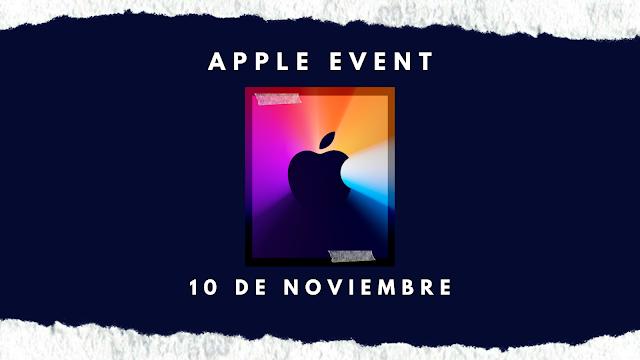 Banner Apple Event 10 de Noviembre