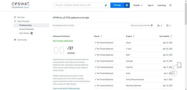 كيفية فحص ملفات APK للتحقق مما إذا كانت تحتوي على فيروسات