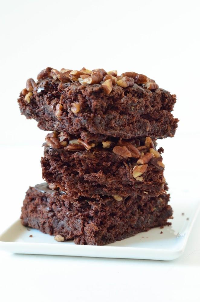 Brownie A La Courgette Vegan Les Bonheurs D Anne Alex