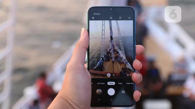 Smartphone dengan tampilan kamera canggih 256MP?