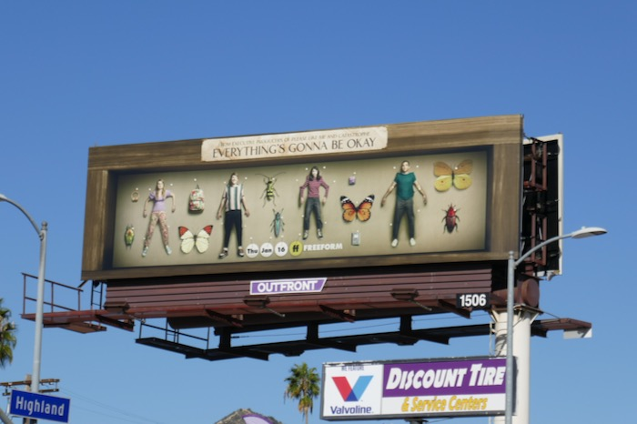 Everythings Gonna Be Okay season 1 billboard