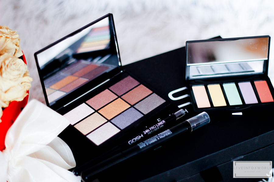 9 SHADES EYESHODOW PALETTE TO PARTY IN LONDON
