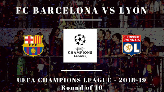 It's Lyon! Barcelona to Face French Side in Champions League.