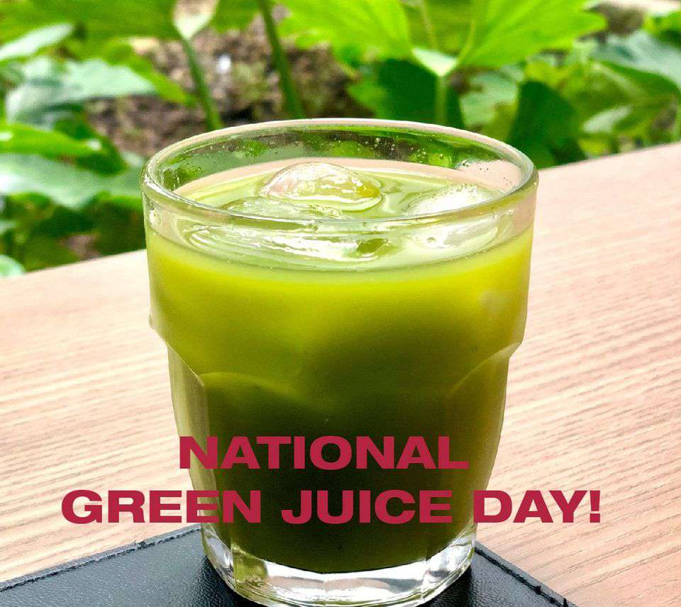 National Green Juice Day Wishes Images