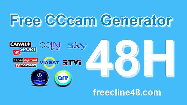 Free CCcam Generator 48 Hours