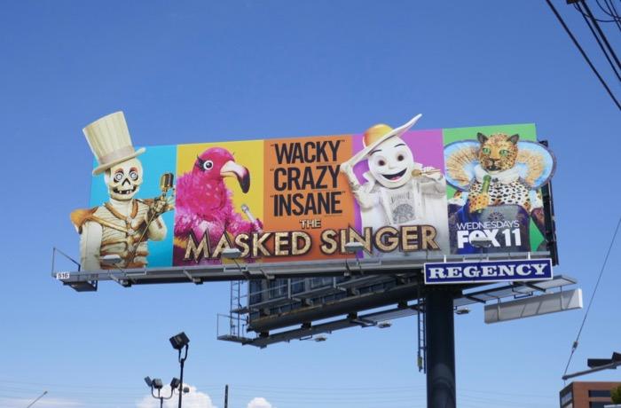 Masked Singer season 2 billboard