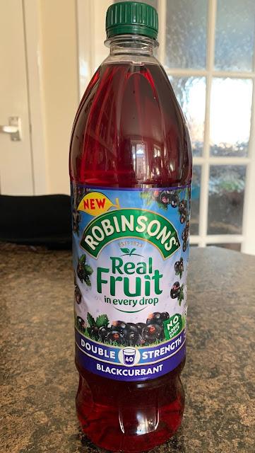 Robinsons Blackcurrant Cordial