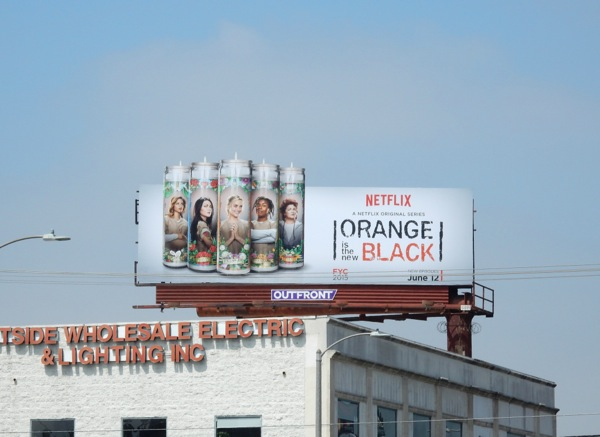 Orange is the New Black season 3 billboard
