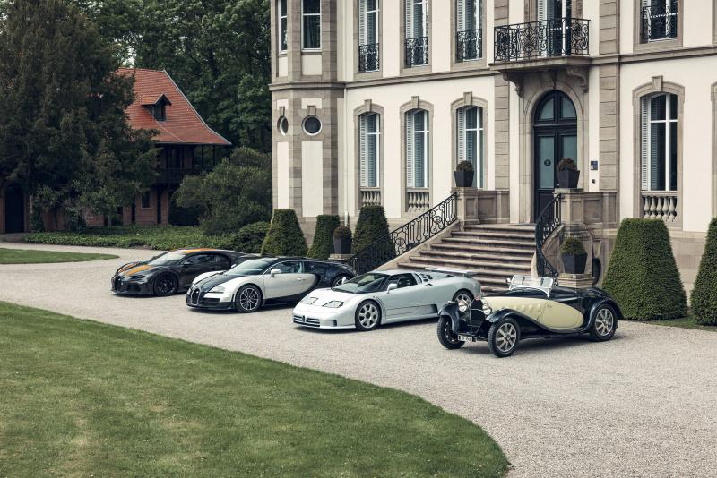 Bugatti's Super Sports
