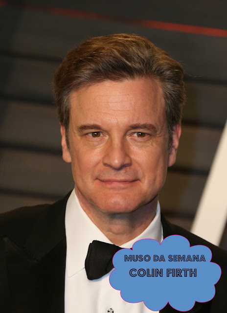 Colin Firth, o Mark Darcy de O Bebê de Bridget Jones é o muso da semana
