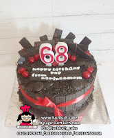 Kue Tart Blackforest Full Coklat Tanpa Rhum