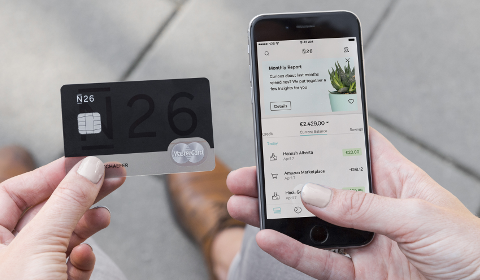 N26 : carte et app mobile
