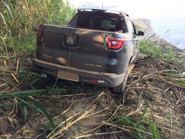 Carro roubado em Natal, RN, é recuperado na zona rural de Guajará-Mirim