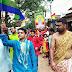प्रखंड क्षेत्र में धूमधाम से मनाया गया भगवान महावीर स्वामी का जन्मोत्सव, निकाली गई भव्य पदयात्रा
