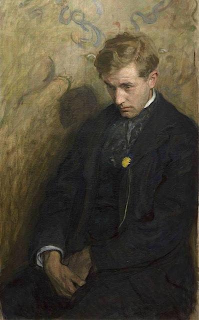 Wojciech Weiss (1875-1950) Melancholik, 1894 Collection particulière