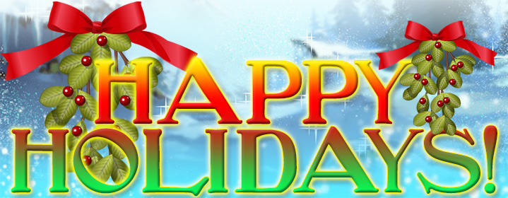 Weekly News Report: December 25, 2020 Happy-Holidays
