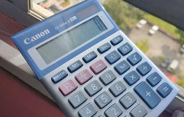 Kalkulator Rosak Jangan Dibuang: Cara Tukar Bateri Kalkulator Sendiri