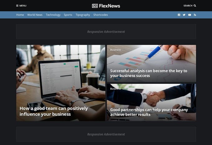 Review tentang Flexnews Blogger Template