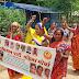पोटका में महिलाएं जागरूकता रैली में लीं भाग।