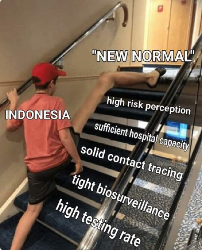 new normal dan corona di Indonesia