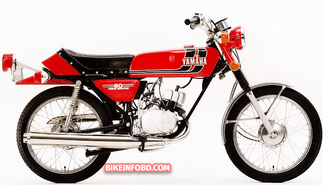 1973 Yamaha RD60 in Red