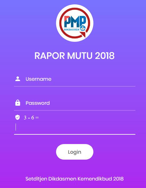 cara cetak raport pmp tahun 2018