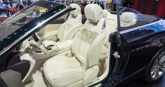 Mercedes S500 Cabriolet thiết kế mui xếp, bằng vải mềm thượng hạng