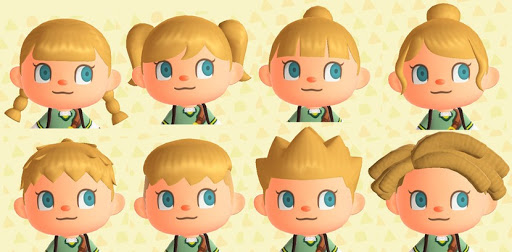 Completamente imperfecto peinados animal crossing Colección De Consejos De Color De Pelo - Animal Crossing: New Horizons: todos los peinados y ...