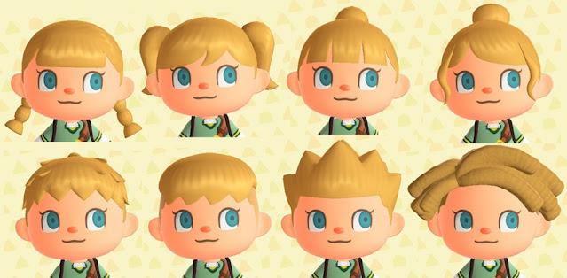 Fácil peinados animal crossing new leaf chica Fotos de consejos de color de pelo - Animal Crossing: New Horizons: todos los peinados y ...