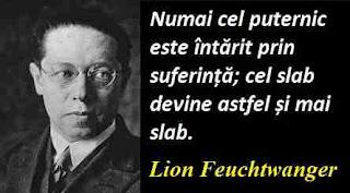 Maxima zilei: 7 iulie - Lion Feuchtwanger