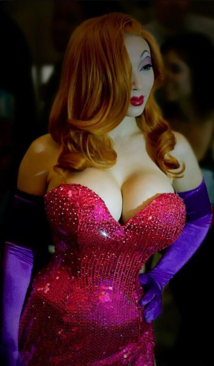 jessica rabbit naked cosplay