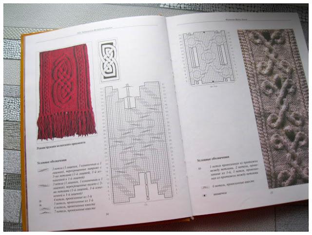 Традиционные кельтские орнаменты в вязаных ирландских узорах