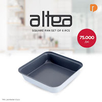 Dusdusan Altea Square Pan Set (Set of 6) ANDHIMIND
