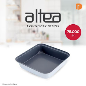 Altea Square Pan Set (Set of 6)