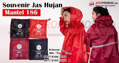 Jas Hujan Mantel Modis dengan kode 186, RAINCOAT GRC  JAS HUJAN TERUSAN 186 SAFETY MANTEL,  Jas Hujan Mantel Panjang GRC 186