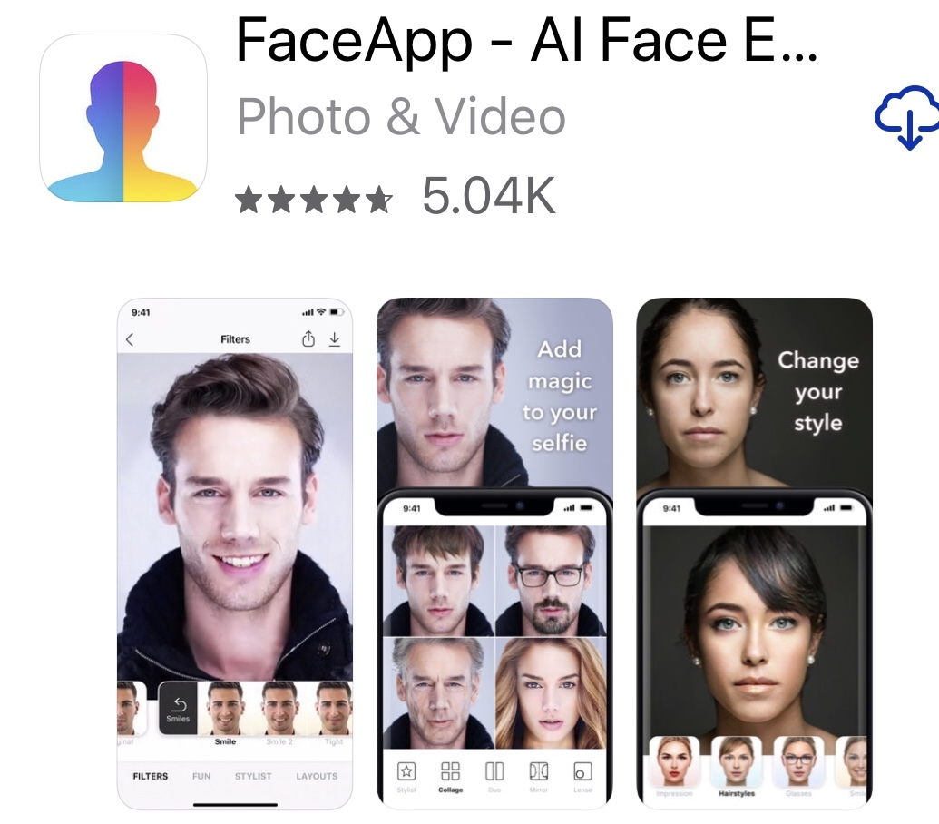 Are you using FaceApp? Beware of hidden risks | The Wacky