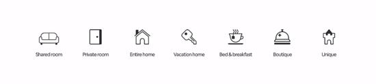 airbnb nuove categorie alloggi
