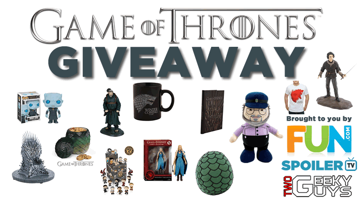COMPLETED - GIVEAWAY: Spend $75 on Game of Thrones Merchandise with FUN.com
