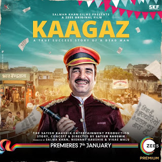 Download Kaagaz (2021) 345MB Hindi Full Movie Free 480p 720p HDRip