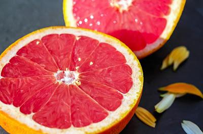 citrus fruit for glowing skin