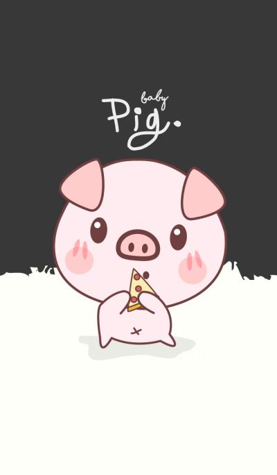 Pig Haru Ko (Black ver.)