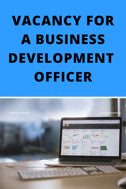 Job opportunity for a Business Development Officer