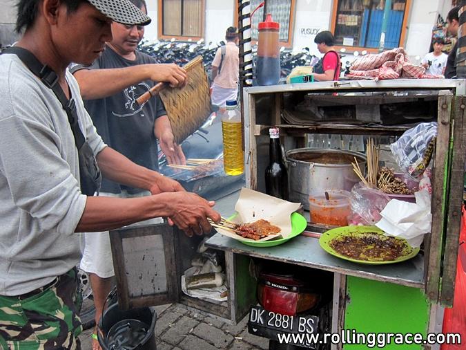 bali street food sate