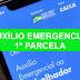 Caixa paga hoje 1ª parcela do auxílio emergencial para novos aprovados