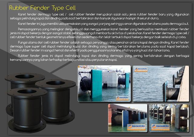 Rubber Fender Dermaga Cell 1450