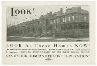 'An entire block ruined by negro invasion…Save your home!'