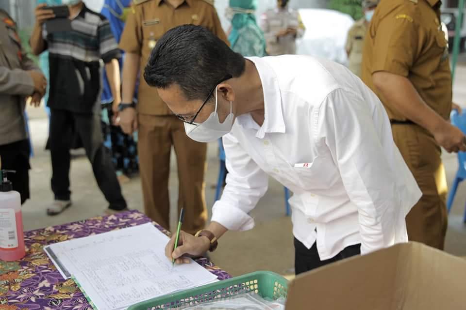 Amsakar Bersama Wagub Kepri Resmikan Empat Posko PPKM Mikro di Kecamatn Bengkong