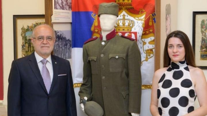 Στολή Σέρβου στρατιώτη για πρώτη φορά σε ελληνικό μουσείο
