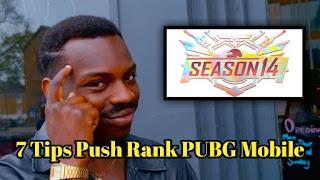 Tips push rank pubg mobile